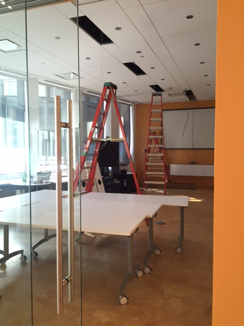 Renovation of RNL conference rooms.