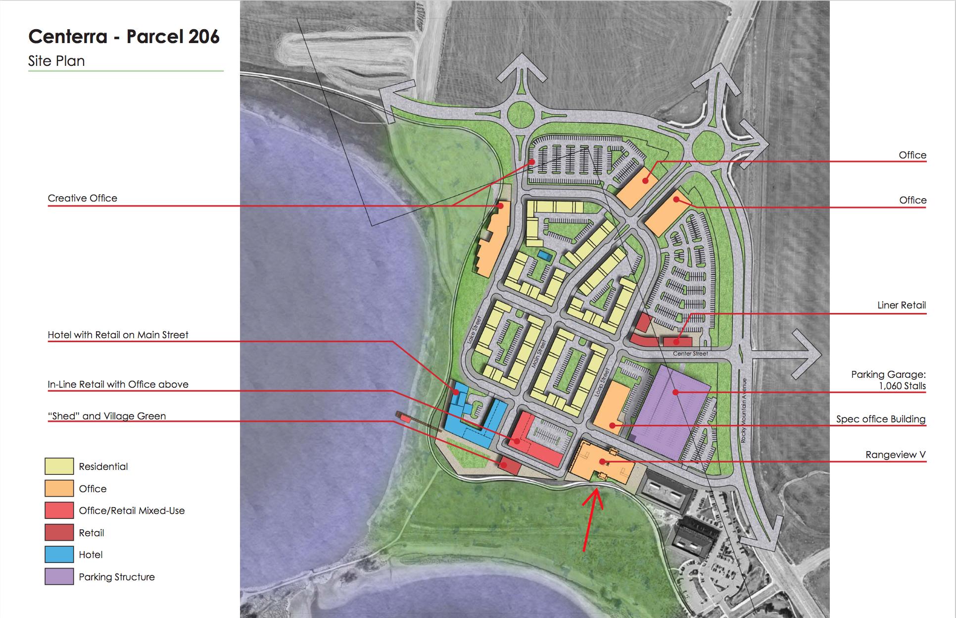 Center Site Plan