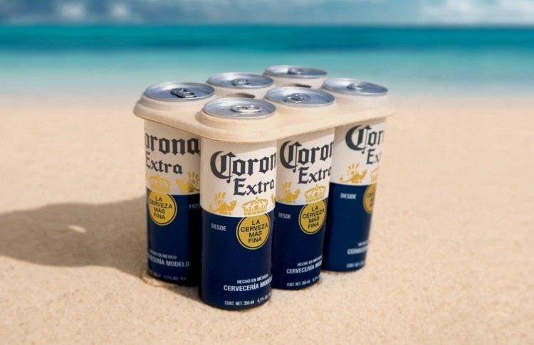 9. CORONA SWITCHES TO 100% PLASTIC FREE SIX PACK RINGS - Is this where the future of packaging is headed?