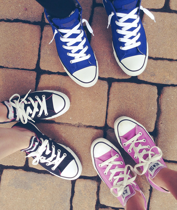 { BYOC. Bring your own chucks (to work day). It's a thing, you guys or at least it should be a thing. }