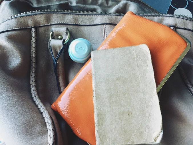 {  Top items  in my bag. At all times. No matter what. }