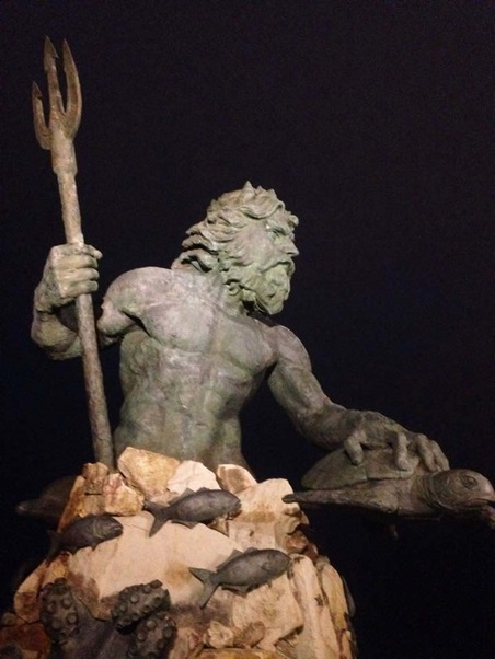 { King Neptune is a boss. }