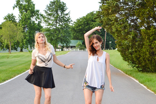 { We like to have dance parties. In the middle of the road. It's cool, no one was hurt. }