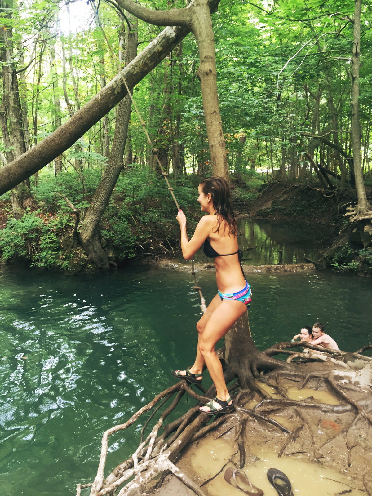 { A rope swing? Count me in. }
