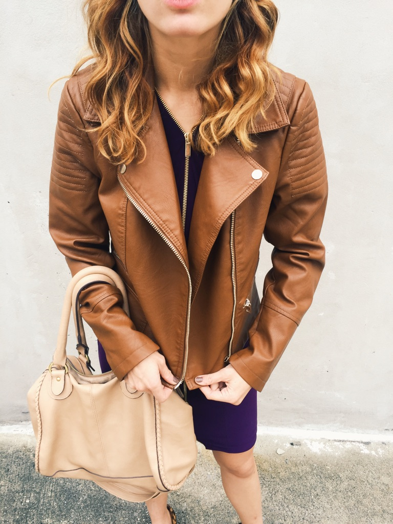 { The key to my heart: leather motorcycle jackets. }
