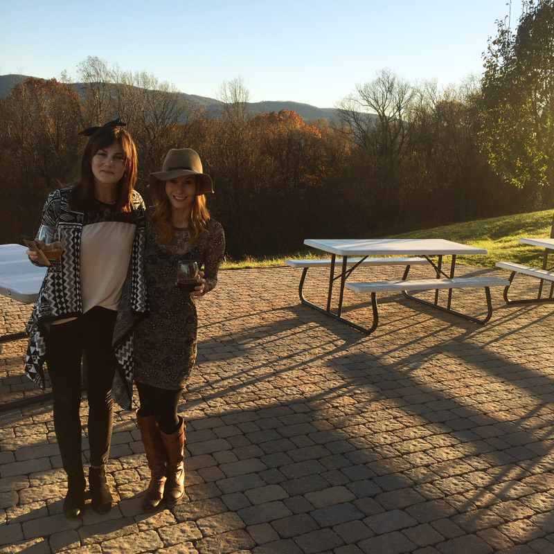 { Valhalla Winery with my best girl. }