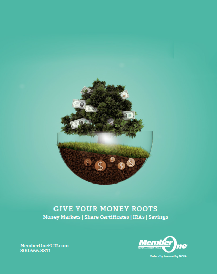 Investment Promotions - Member One FCU  [ copywriter. creative direction. ]