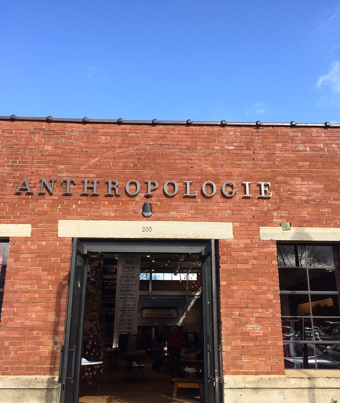 { Anthropologie is my new happy place. }