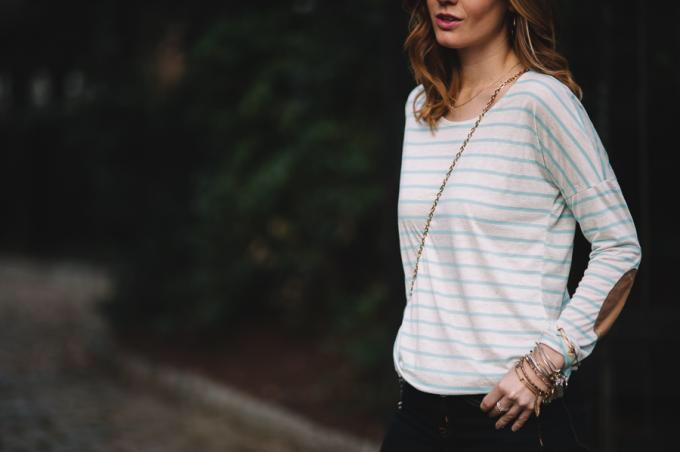 { Pink Blush is my new favorite store. The coziest top ever! }