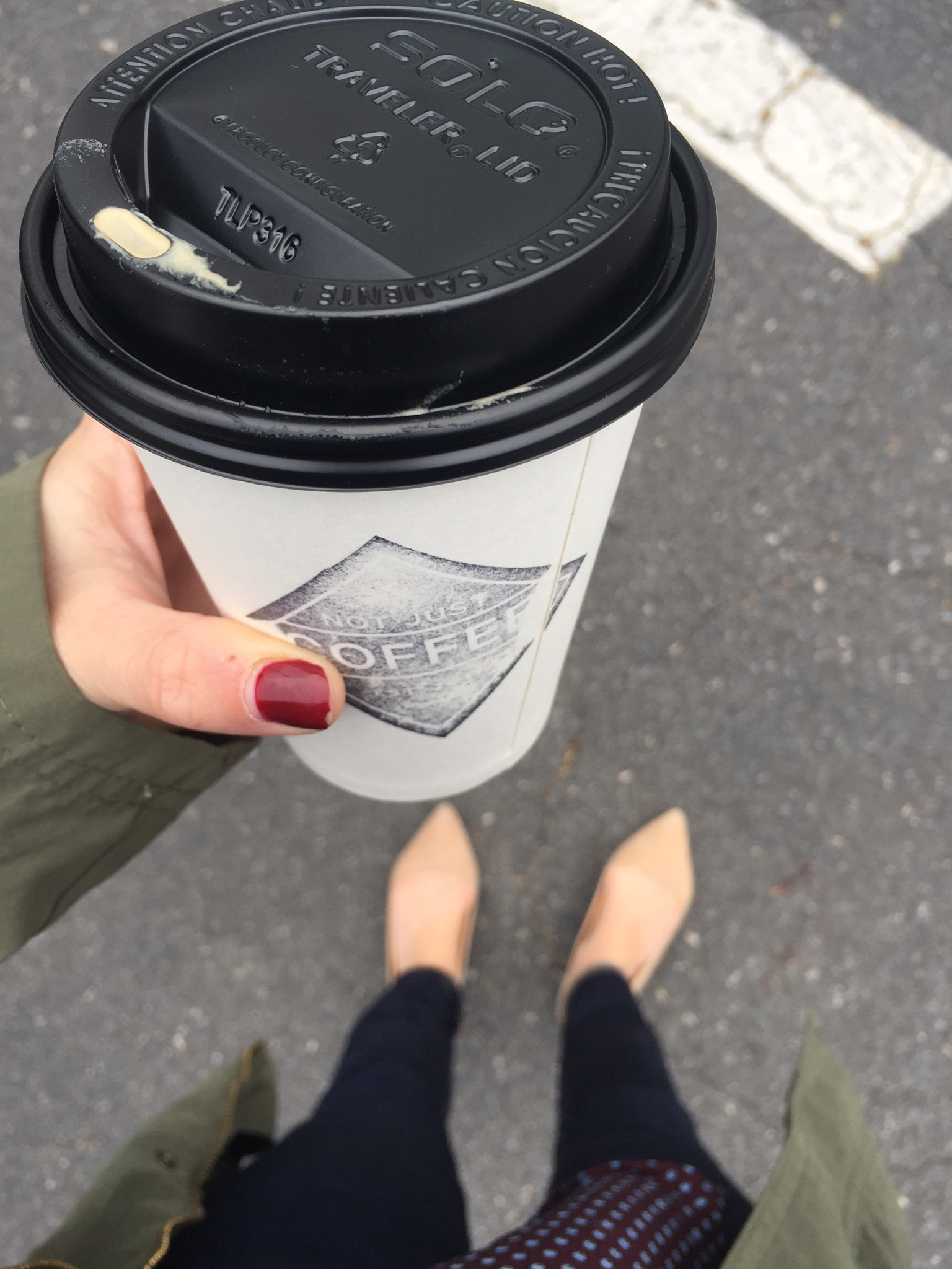 { Because coffee is always necessary. }