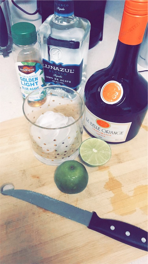 { Because homemade margaritas are always appropriate. }