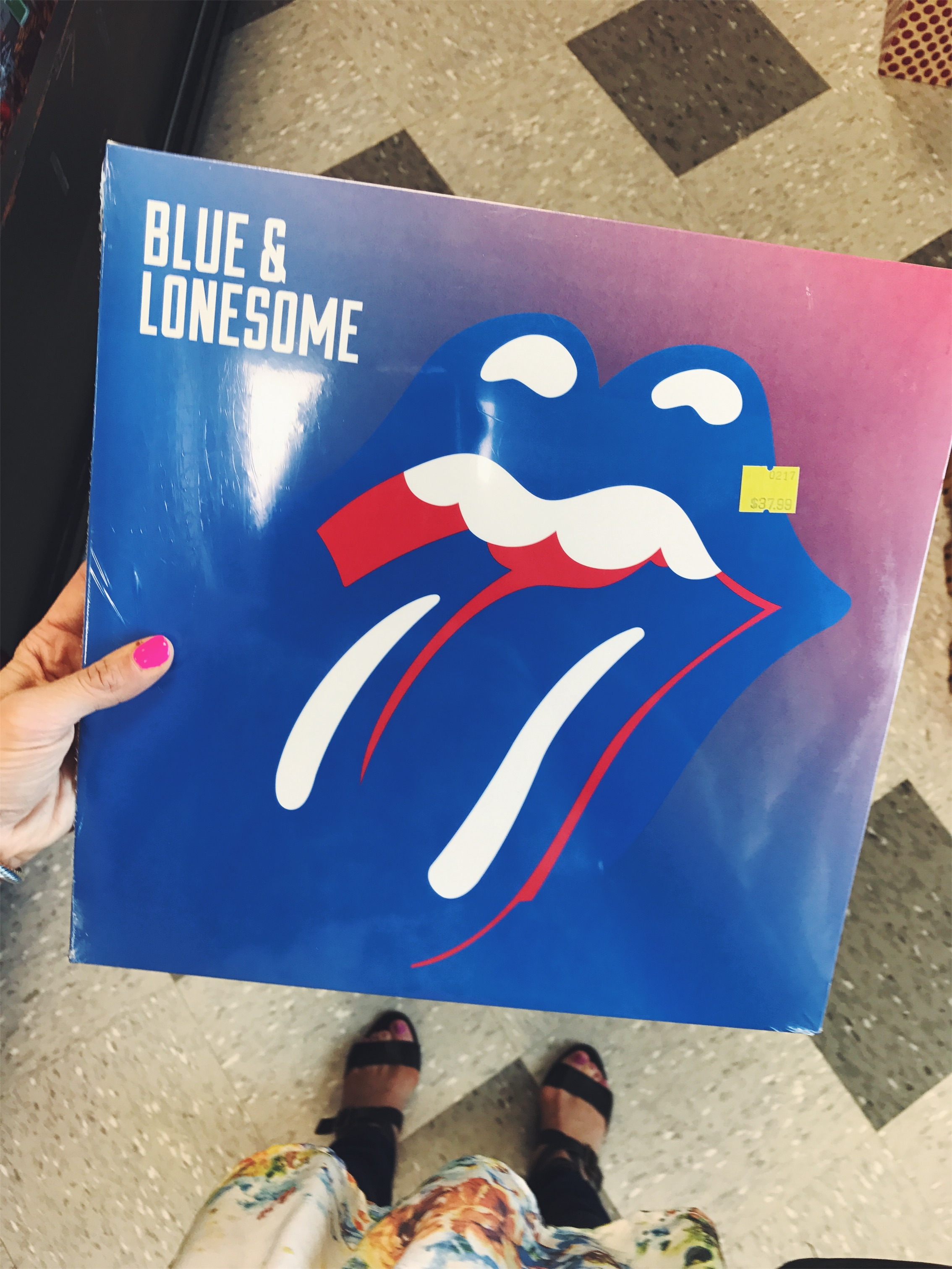 { A little somethin' somethin' I added to my vinyl collection. }