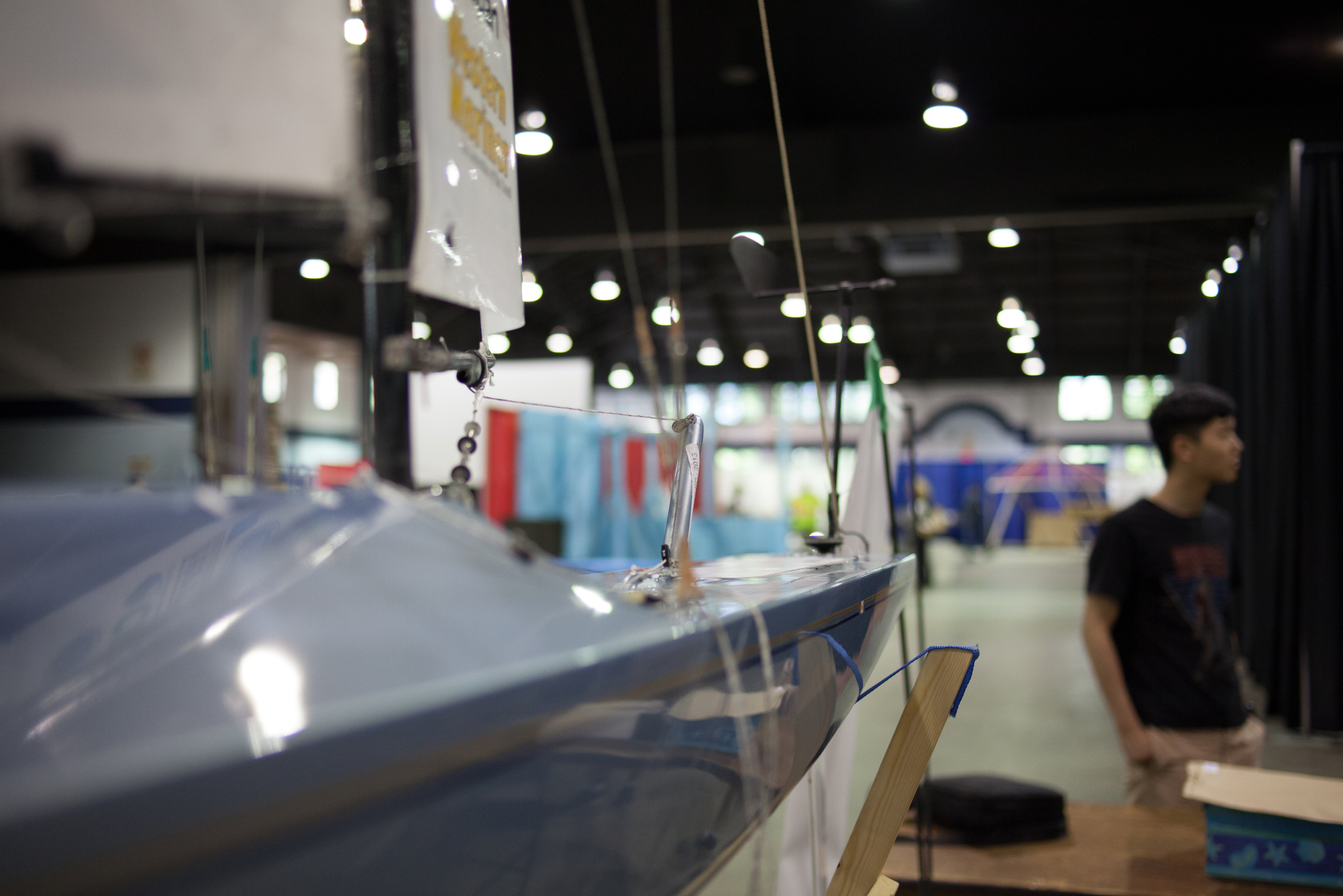 A glimpse of the UBC self driving smart sail boat.