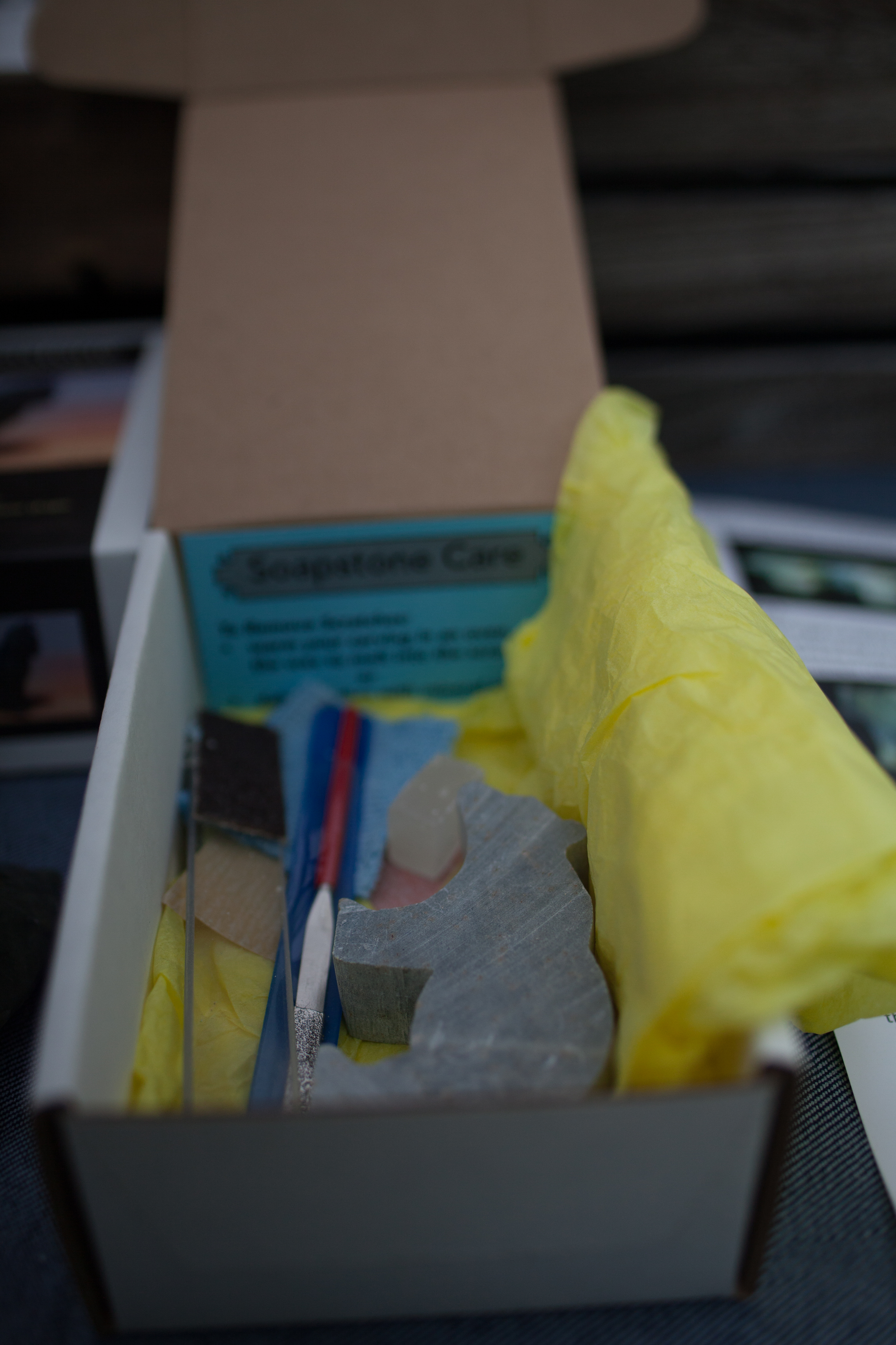 Studiostone, DIY soap stone kits.