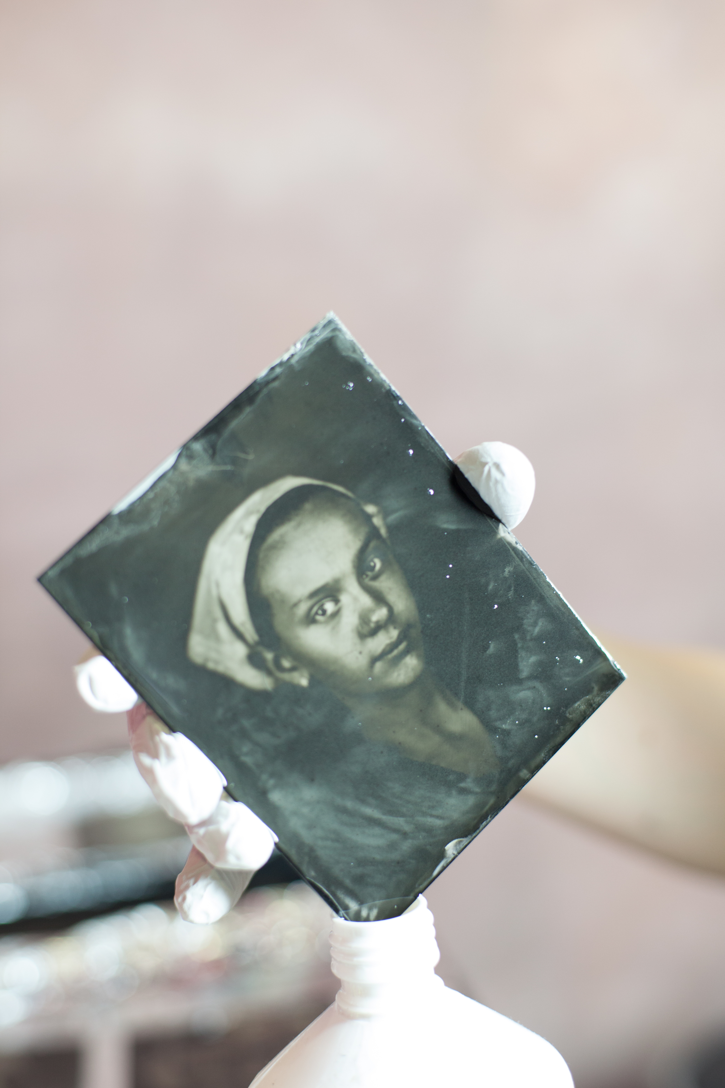 Philip Chin, wet plate collodion tin type images.