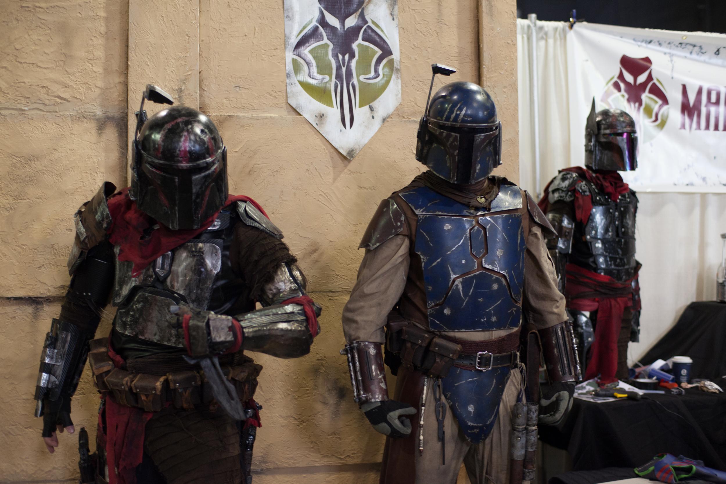 Mandalorian Mercs Costume Club.