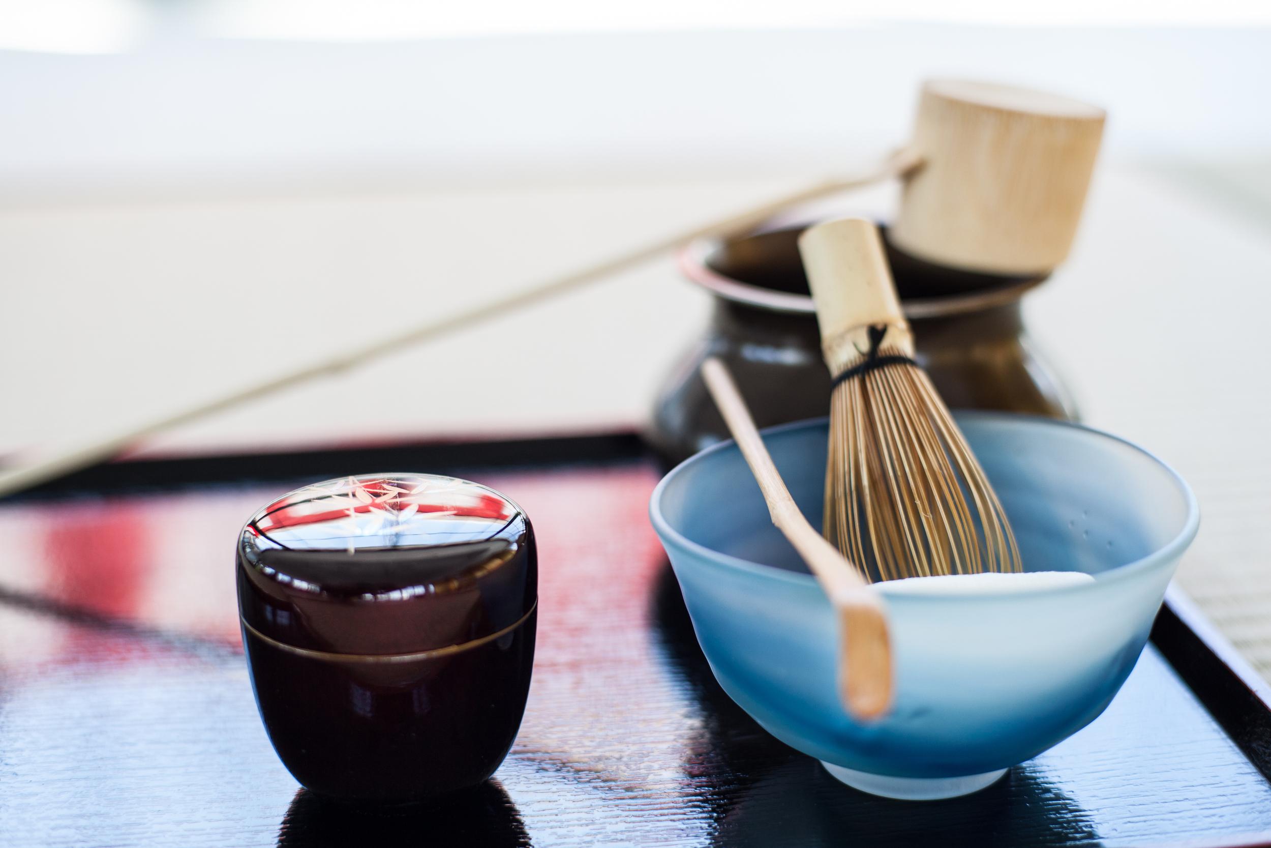 Urasenke Tea Ceremony.
