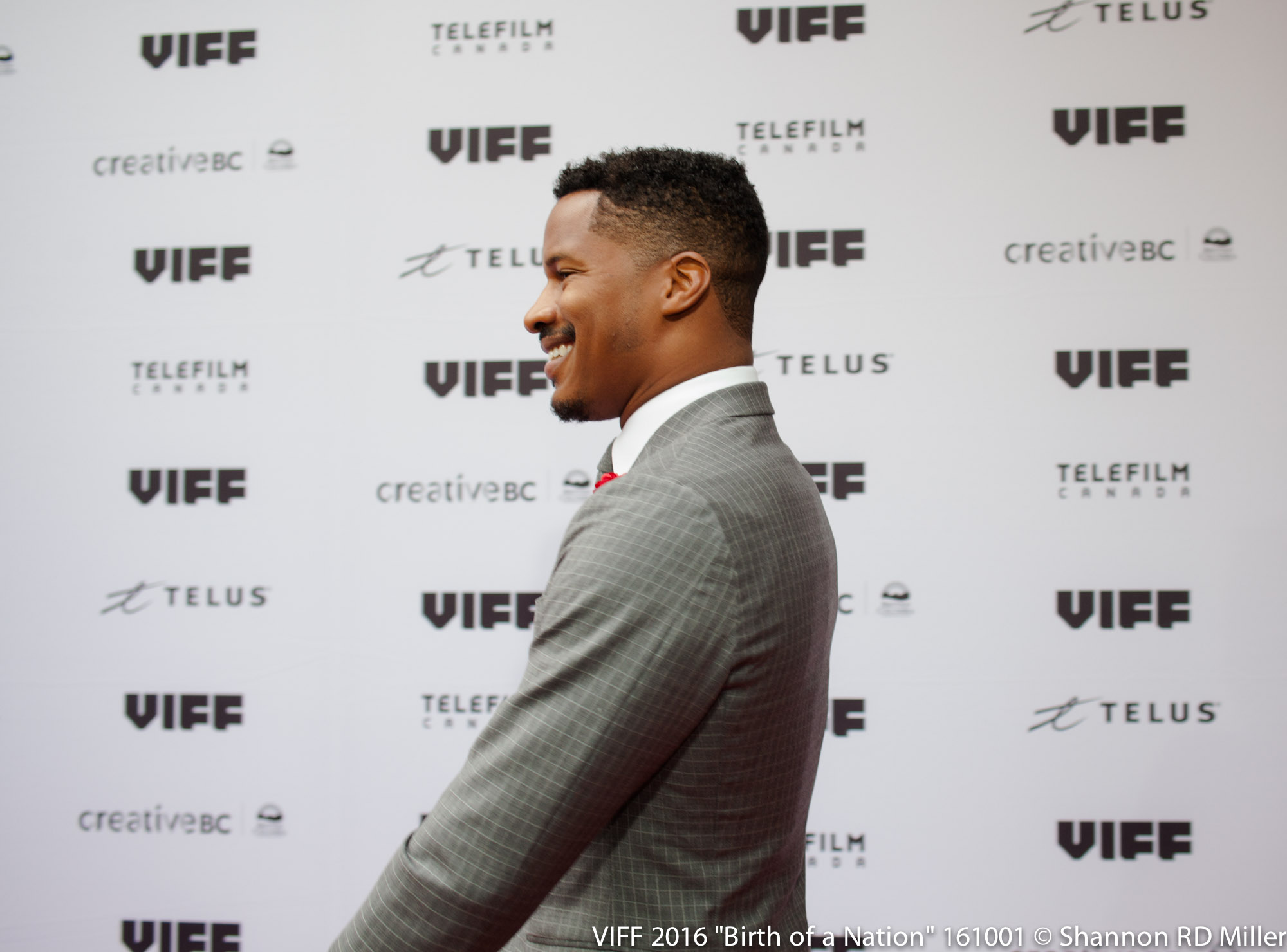 Birth of a Nation, Actor Nate Parker