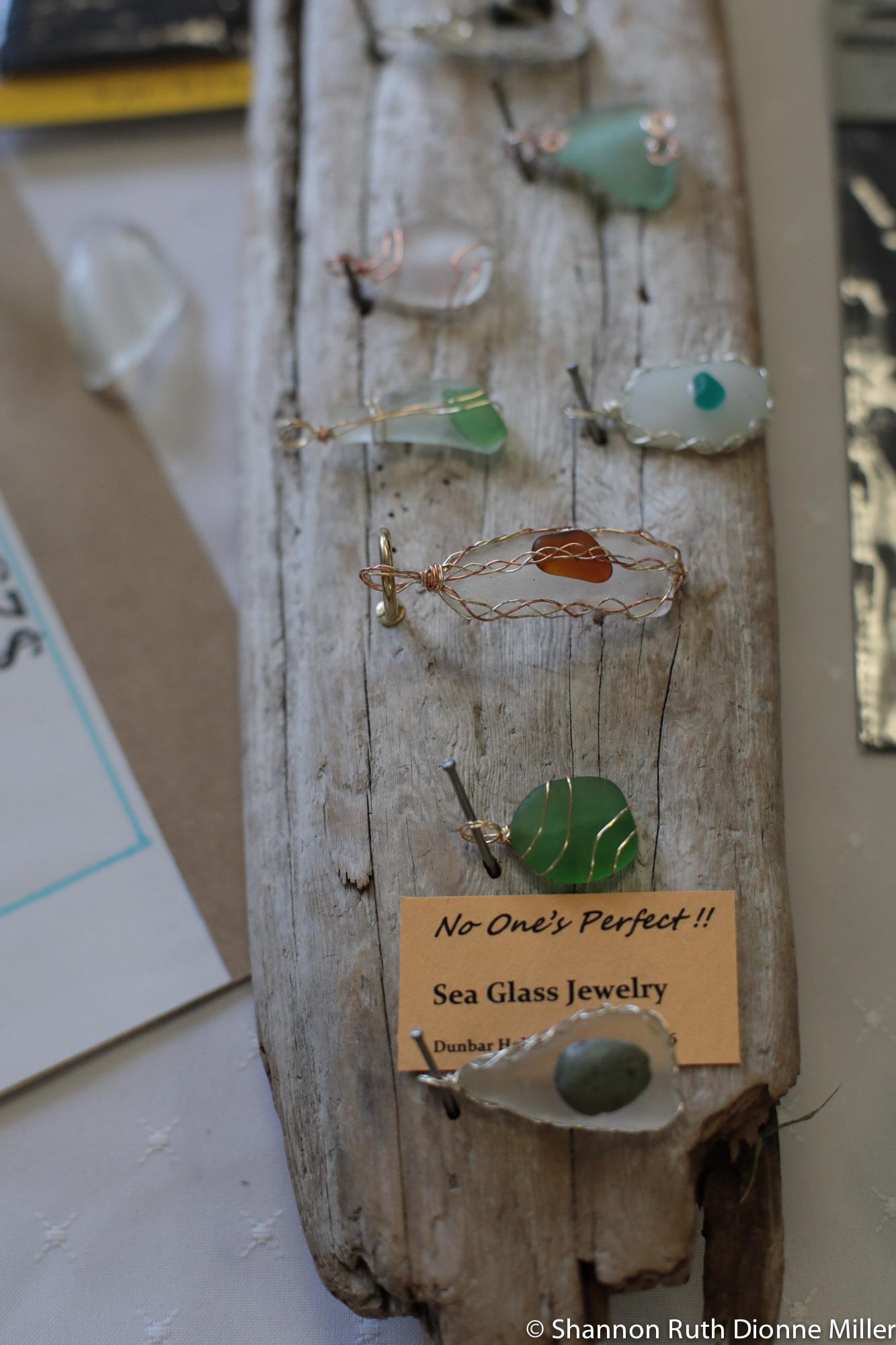 No One's Perfect, Sea Glass Jewelry.