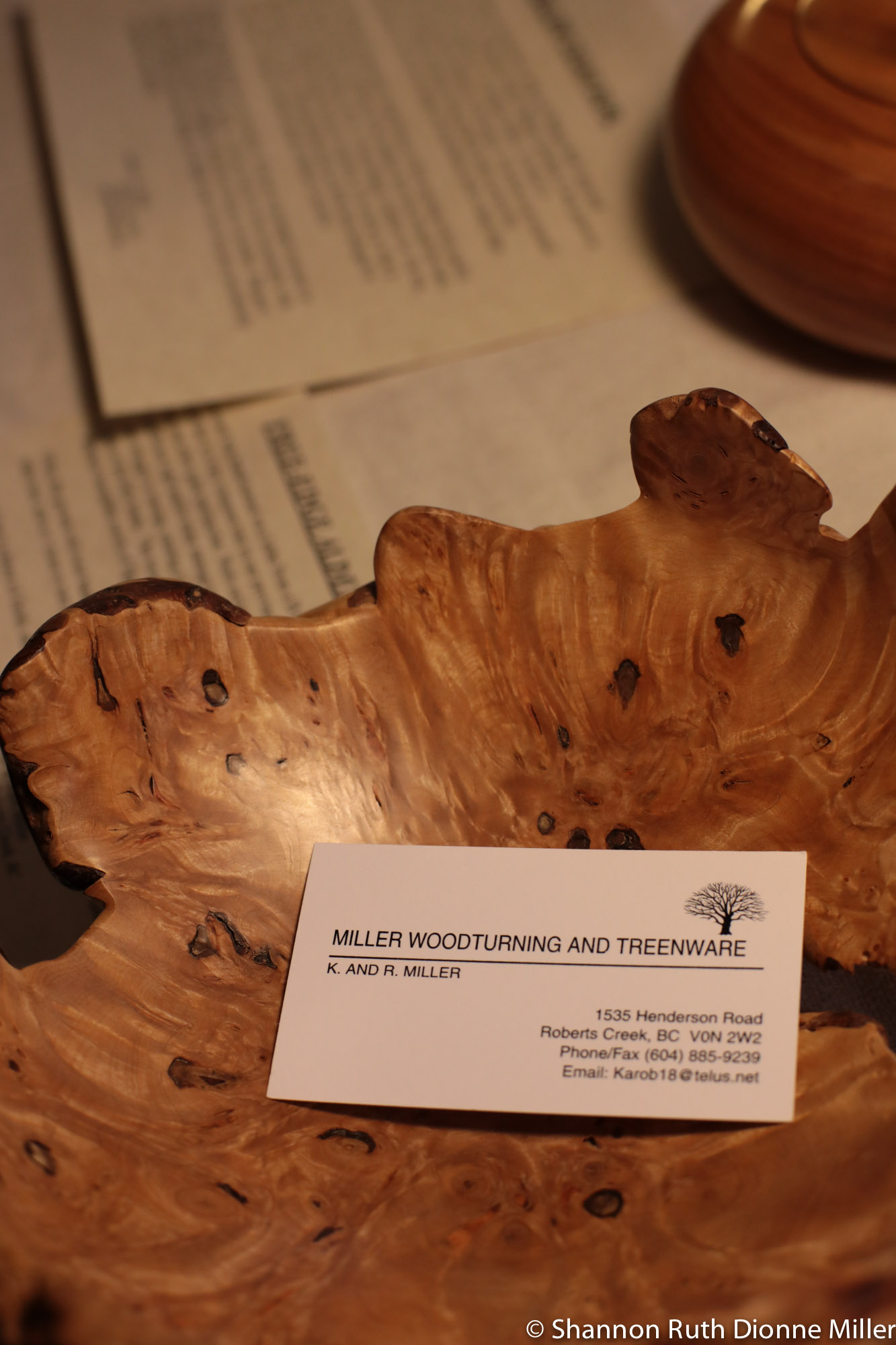 Miller Woodturning and Treenware.