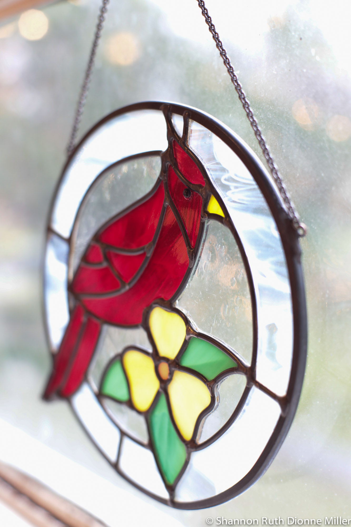 Forest Glass Studio stained glass, Megan Tang.