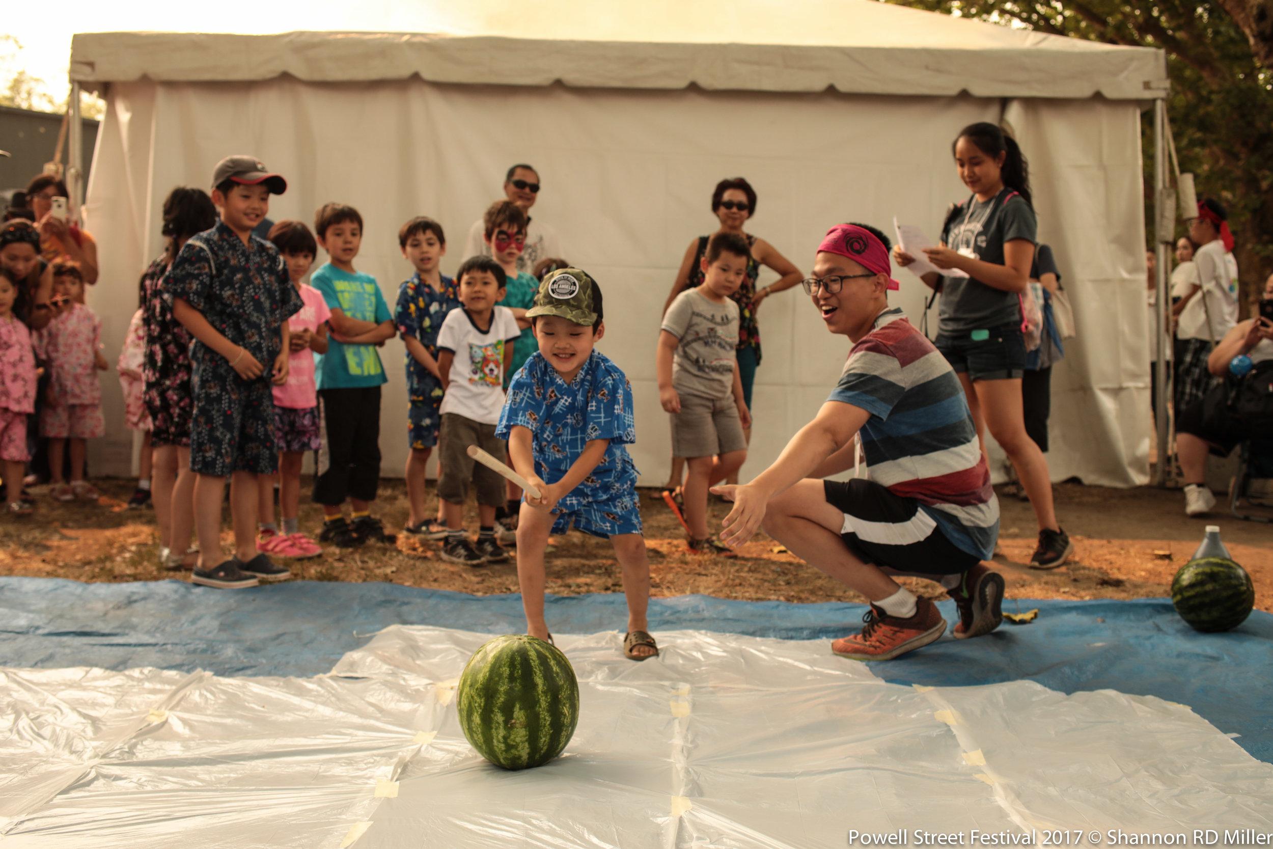 Suiki Wari @ the children's tent.