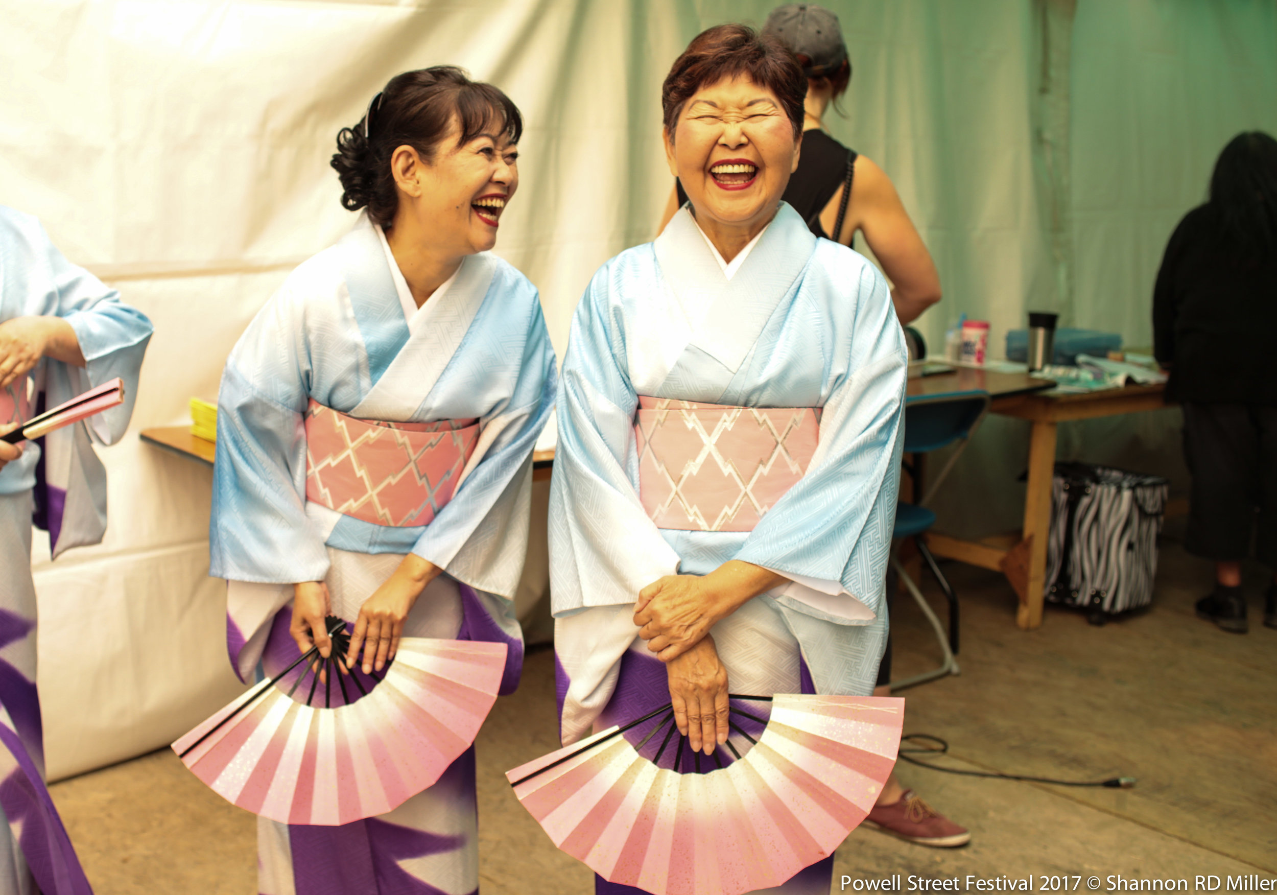 Otowa Ryu Japanese dancers.