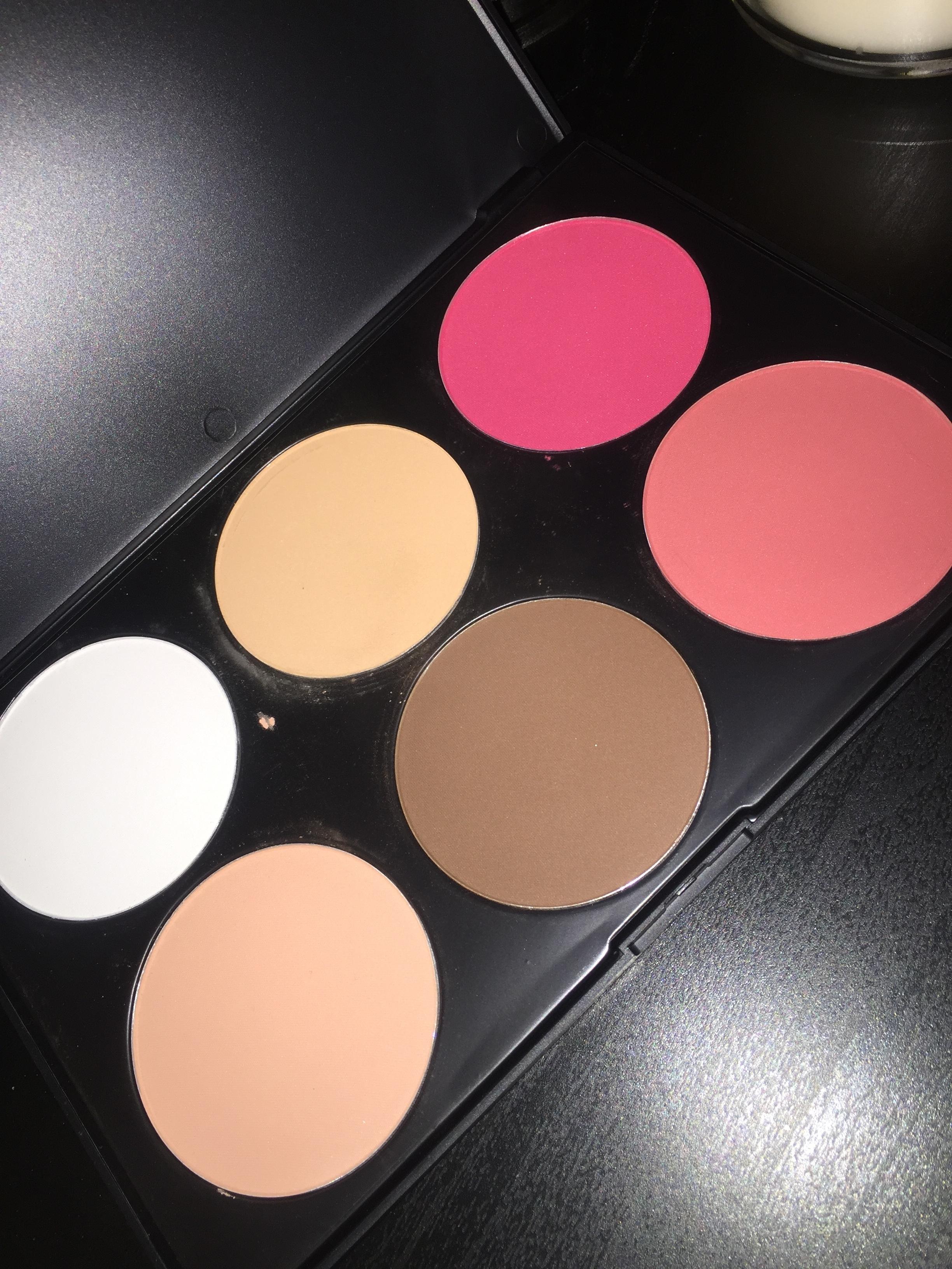 BH Cosmetics Contour & Blush 6 Color Palette