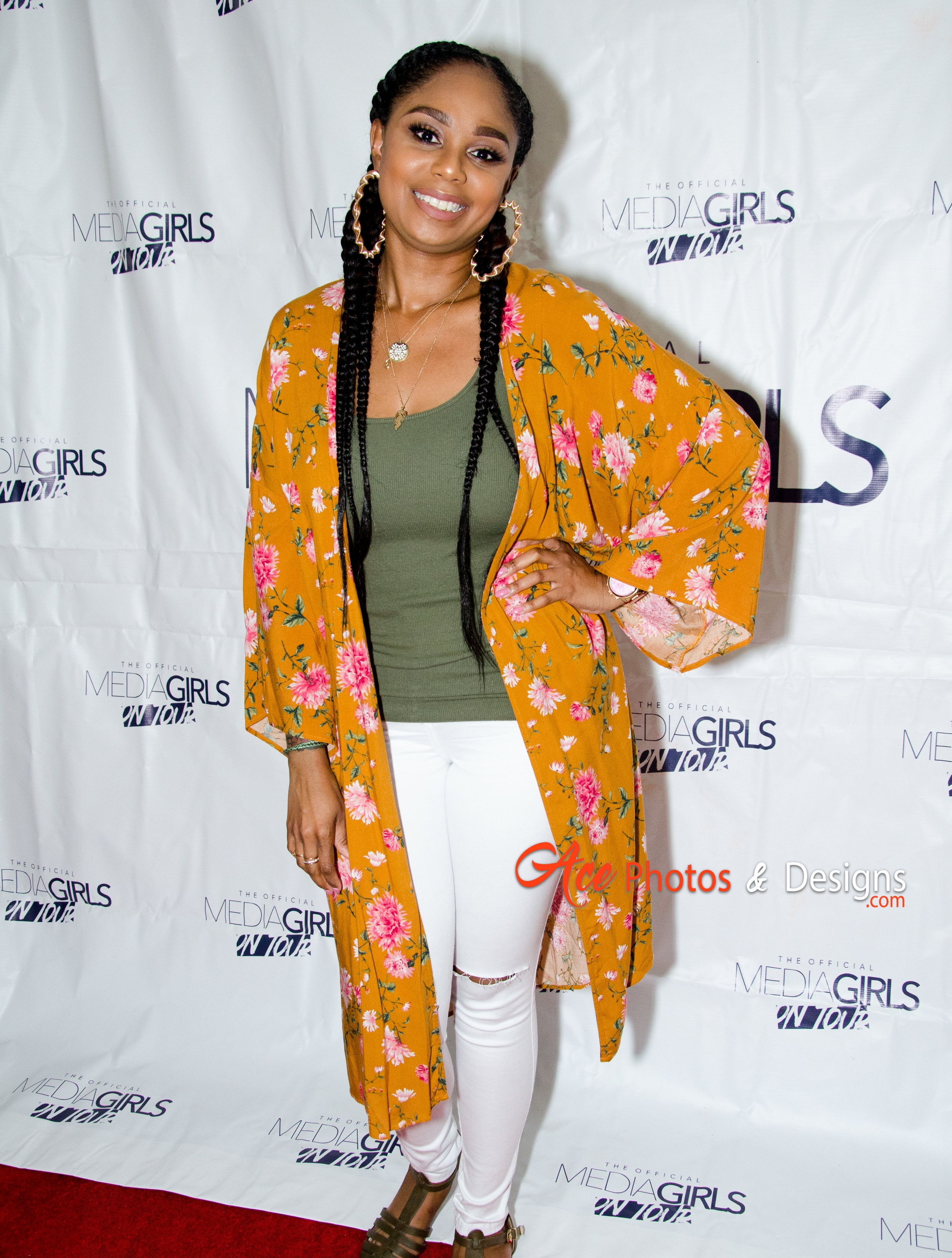 Jennifer J. attends the Media Girls on Tour in Atlanta. Photo cred: Ace Photos and Designs