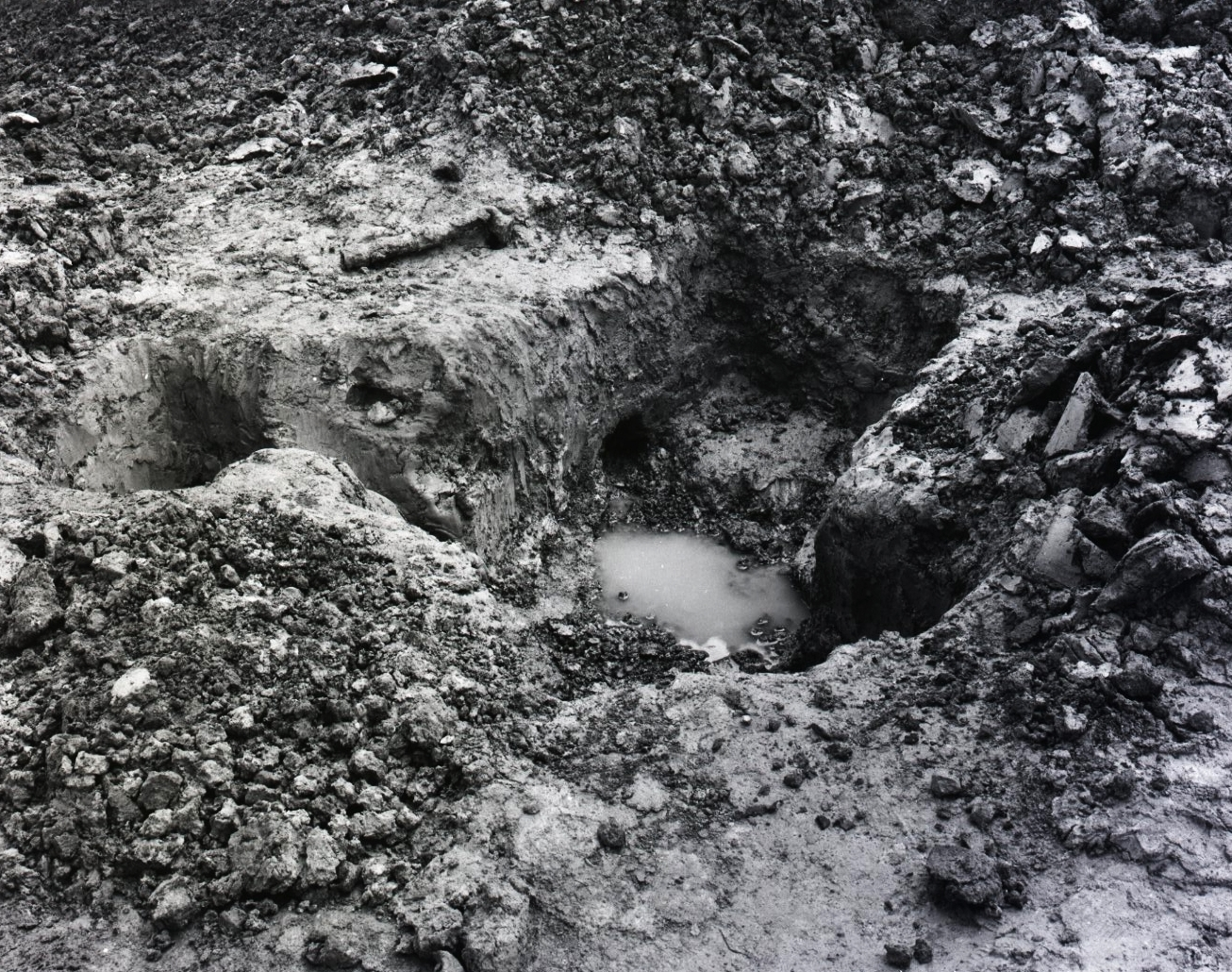 Excavated Grave, International Trench, Ypres