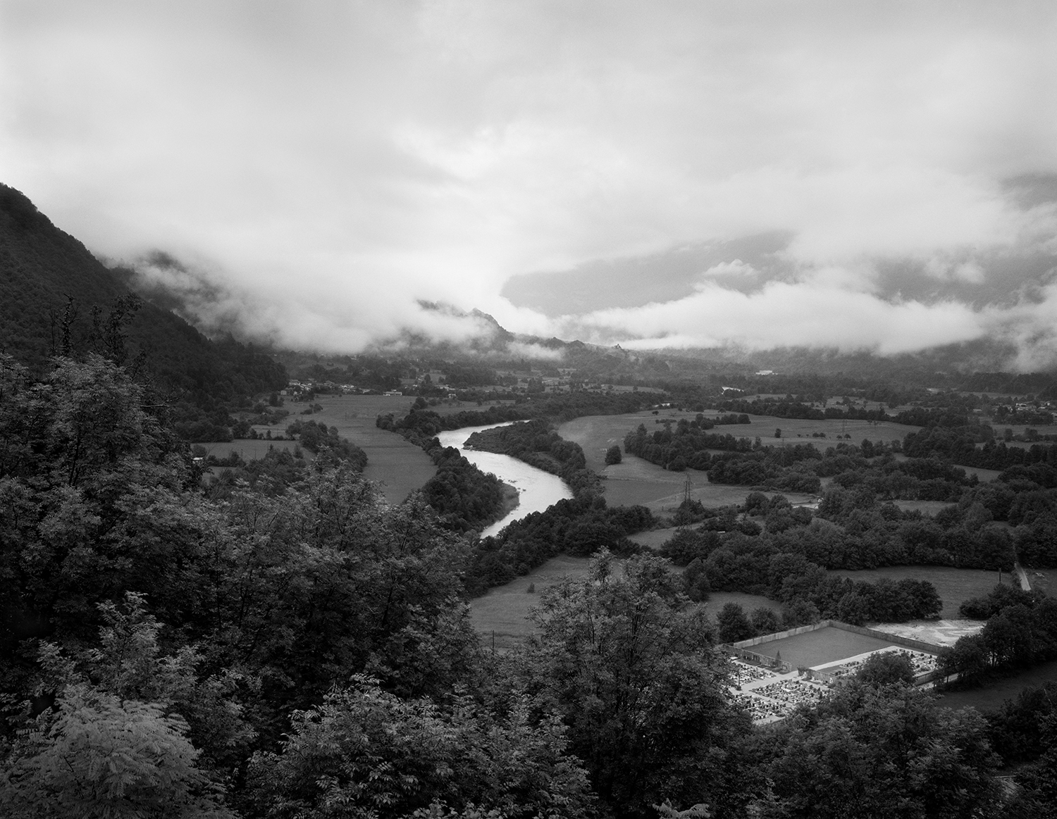 View over the Isonzo from Caporetto