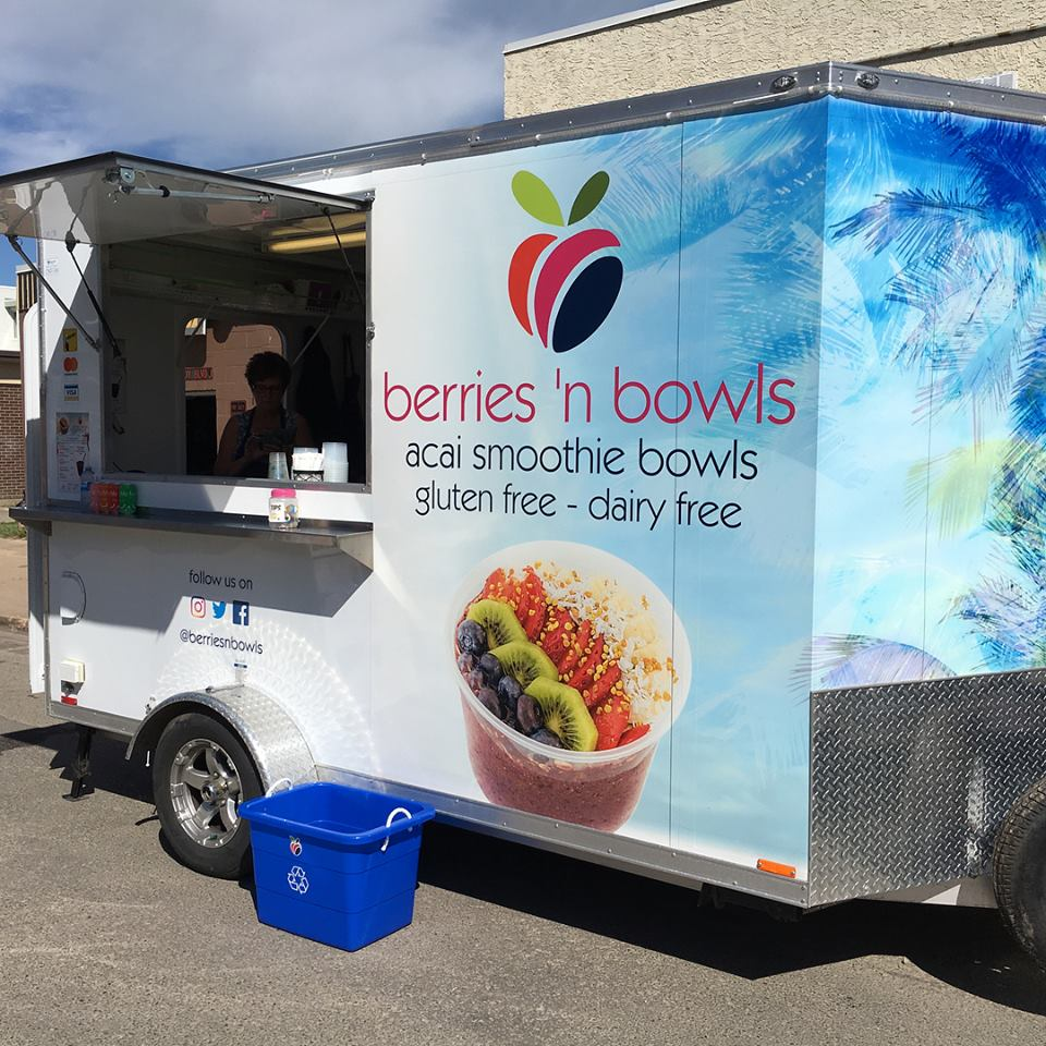Berries 'n Bowls Food Truck -