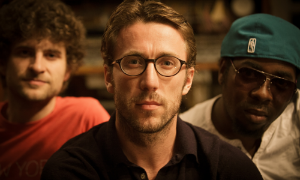 "Bill Laurance w/Snarky Puppy bandmates Michael League and Robert ""Sput"" Searight"