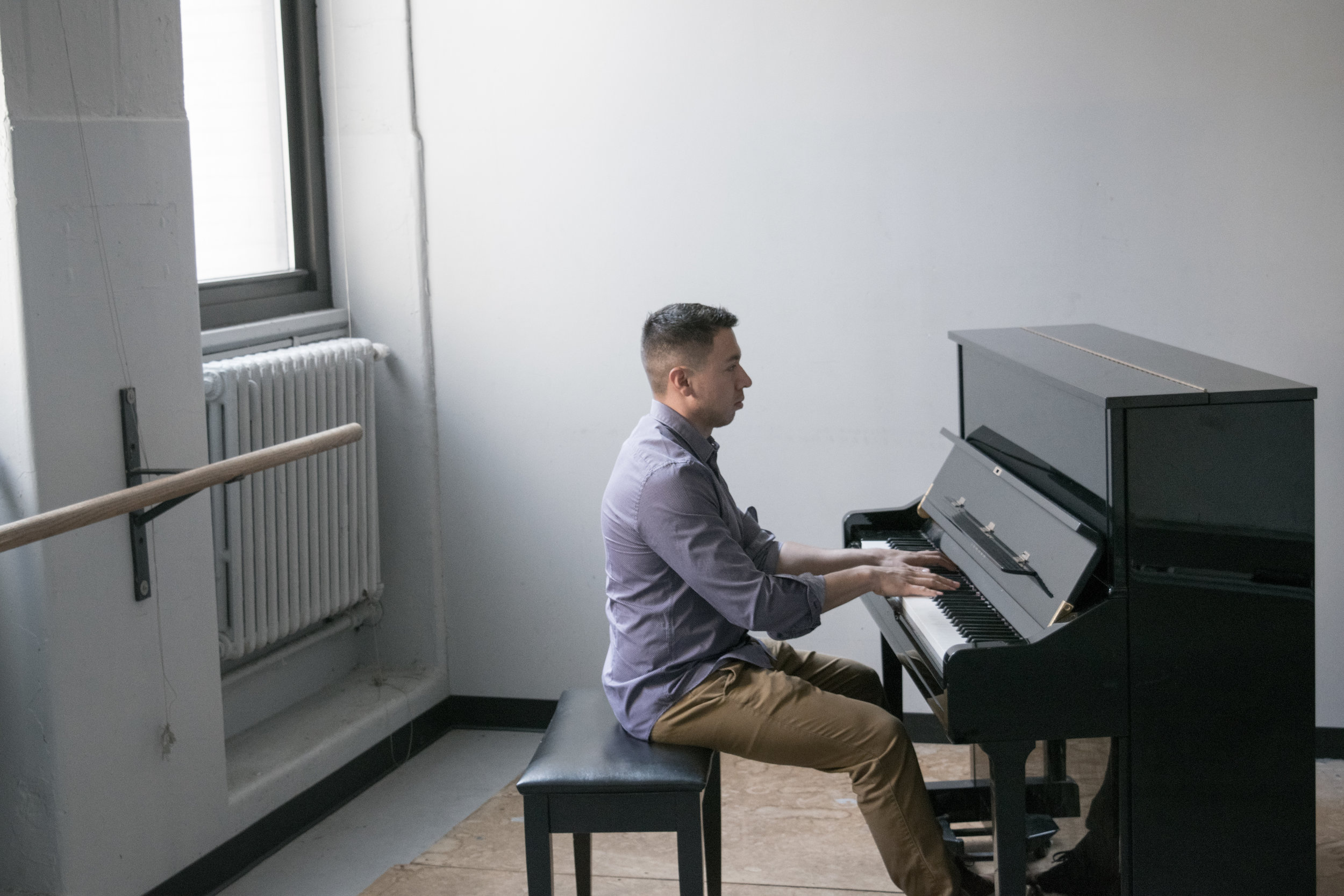 Mejia has been teaching at New York University as a Jazz Piano Instructor since he began his Master's Degree Program at NYU