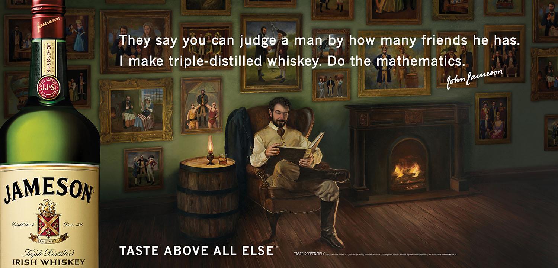 Jameson Whiskey Outdoor Ad