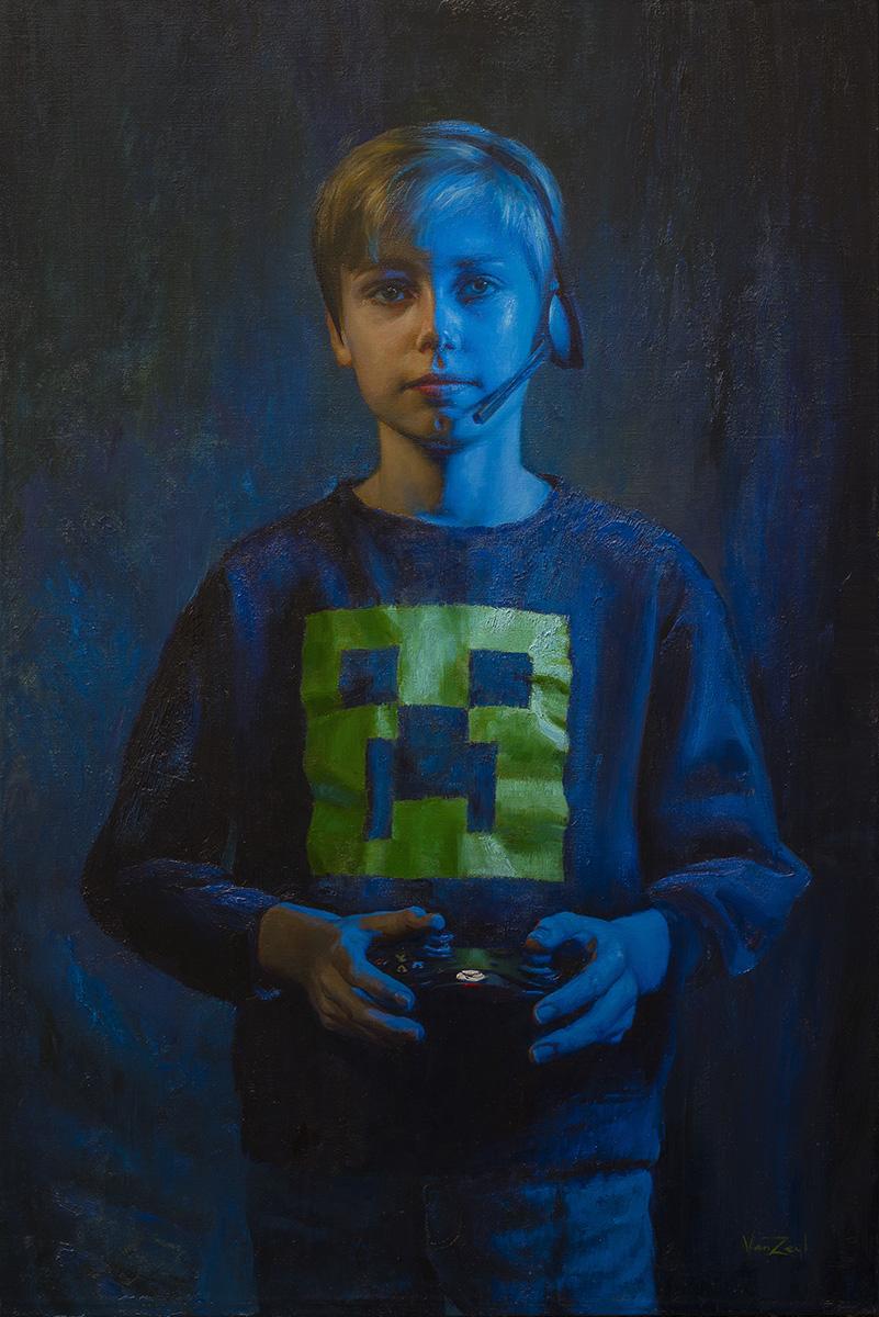 The Gamer (Braden at 10)