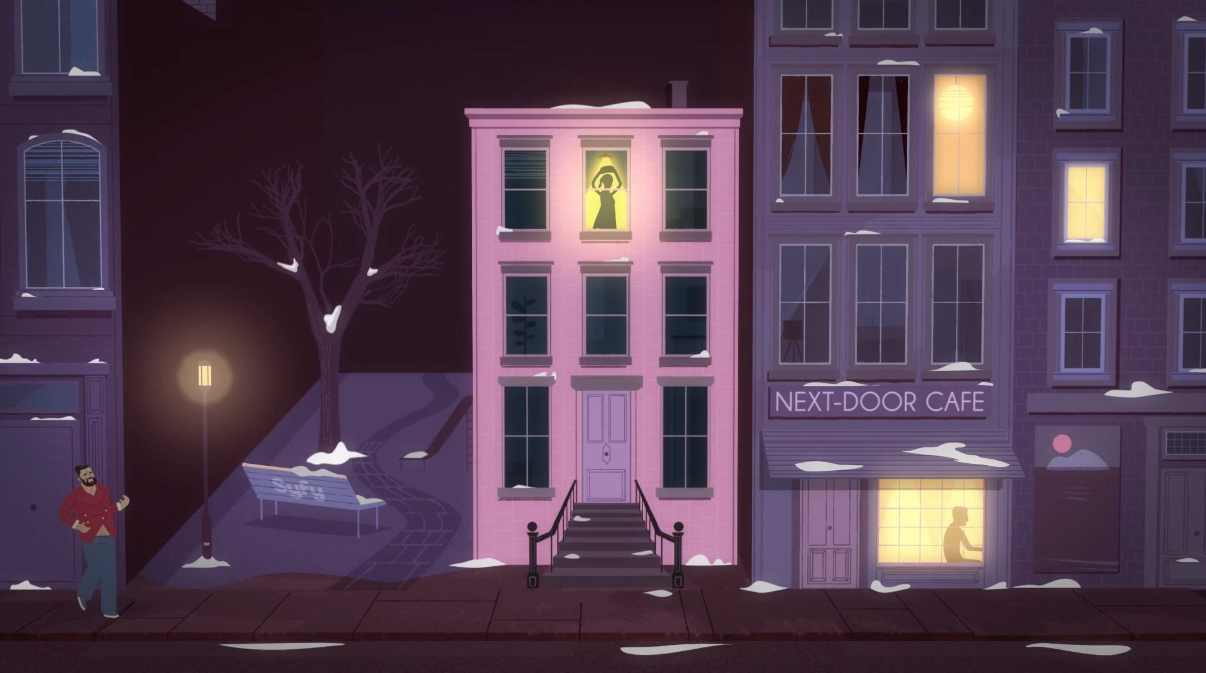 SYFY Eharmony / Rolls: Direction, Concept + Animation