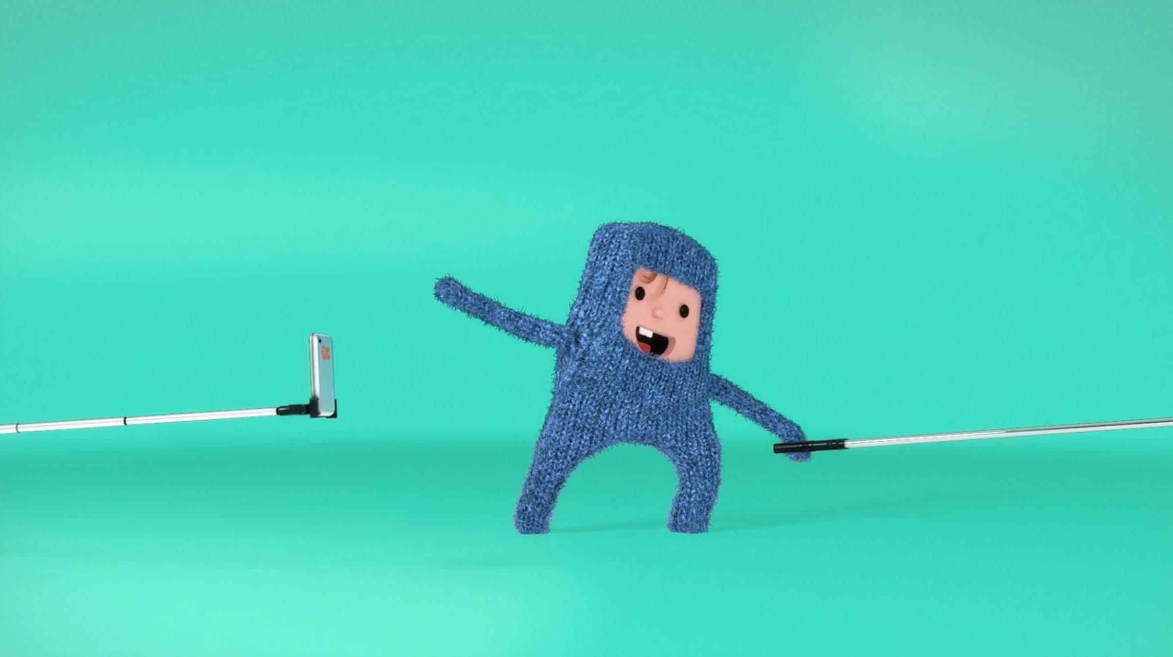 Selfie Stick / Rolls: Direction, Concept + Design