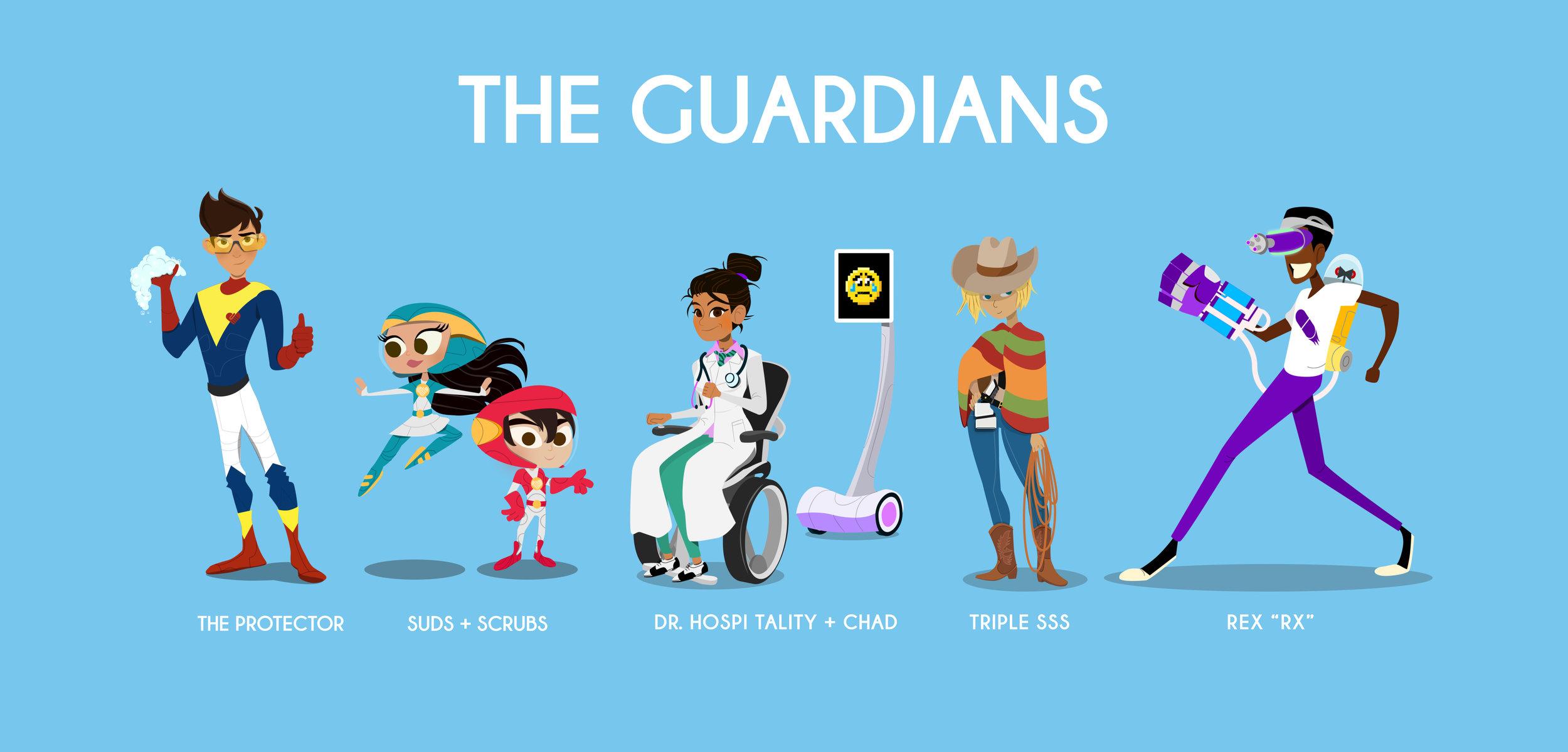 El Paso Children's Hospital Character Design