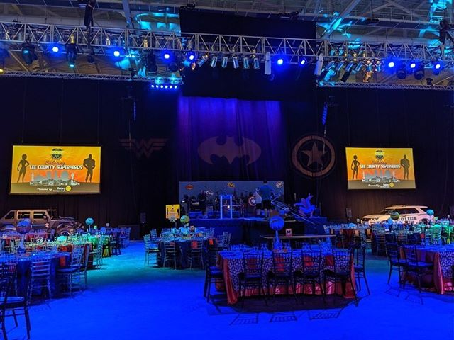 In conjunction with our friends Tech Tronics it was an honor to be able to provide our services for the men and women that serve us on a daily basis at this year's Law and Order Ball. We thank you for all you do! #LocalSuperheros #harmonsav
