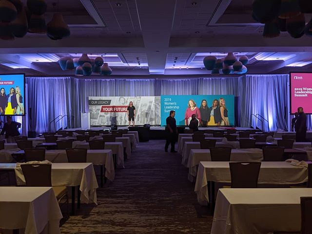 Harmon's Audio Visual was afforded the pleasure to partner with @eventstrategygroup to supply all of their audio-visual needs for a recent event. We take great pride in being able to provide the most current systems available to meet all the needs of our clients, big or small.