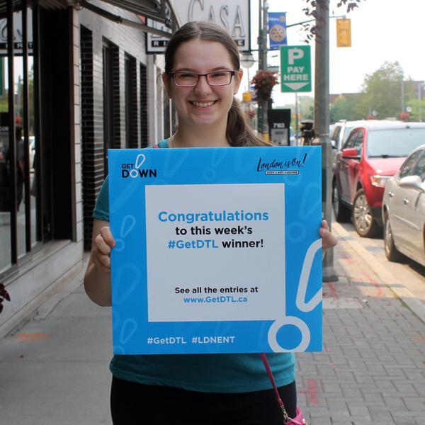 Lydia - Weekly prize winner