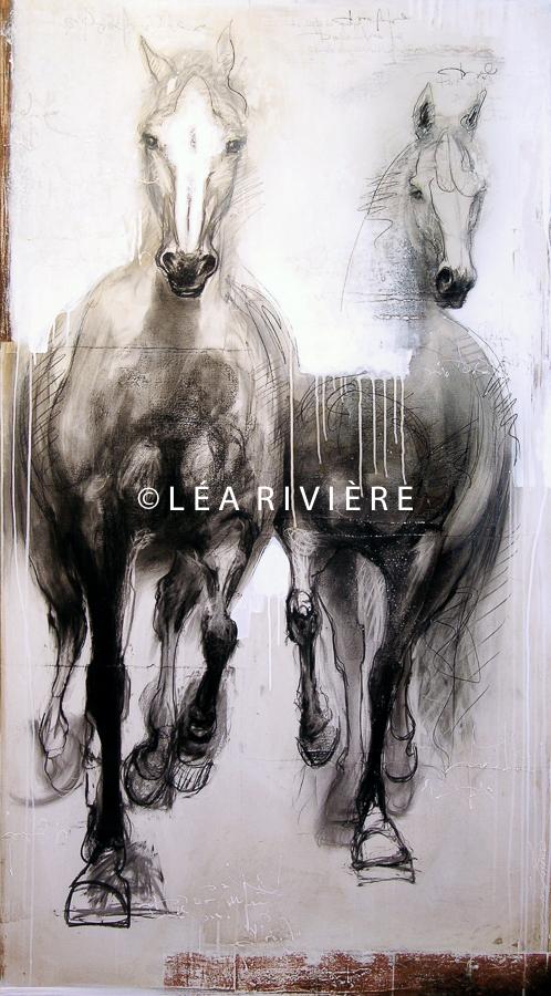 """©LéaRivière «Les lumières de l'aube»  72""""x40"""" 182cmx102cm 2012"""