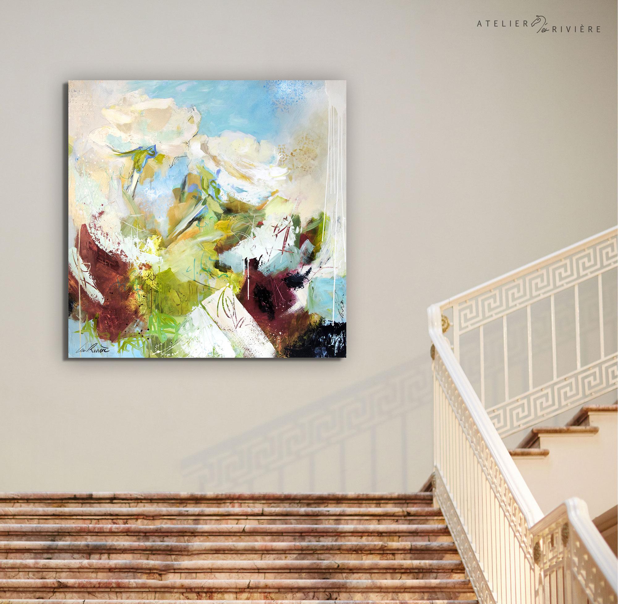 La roseraie (152x152cm)