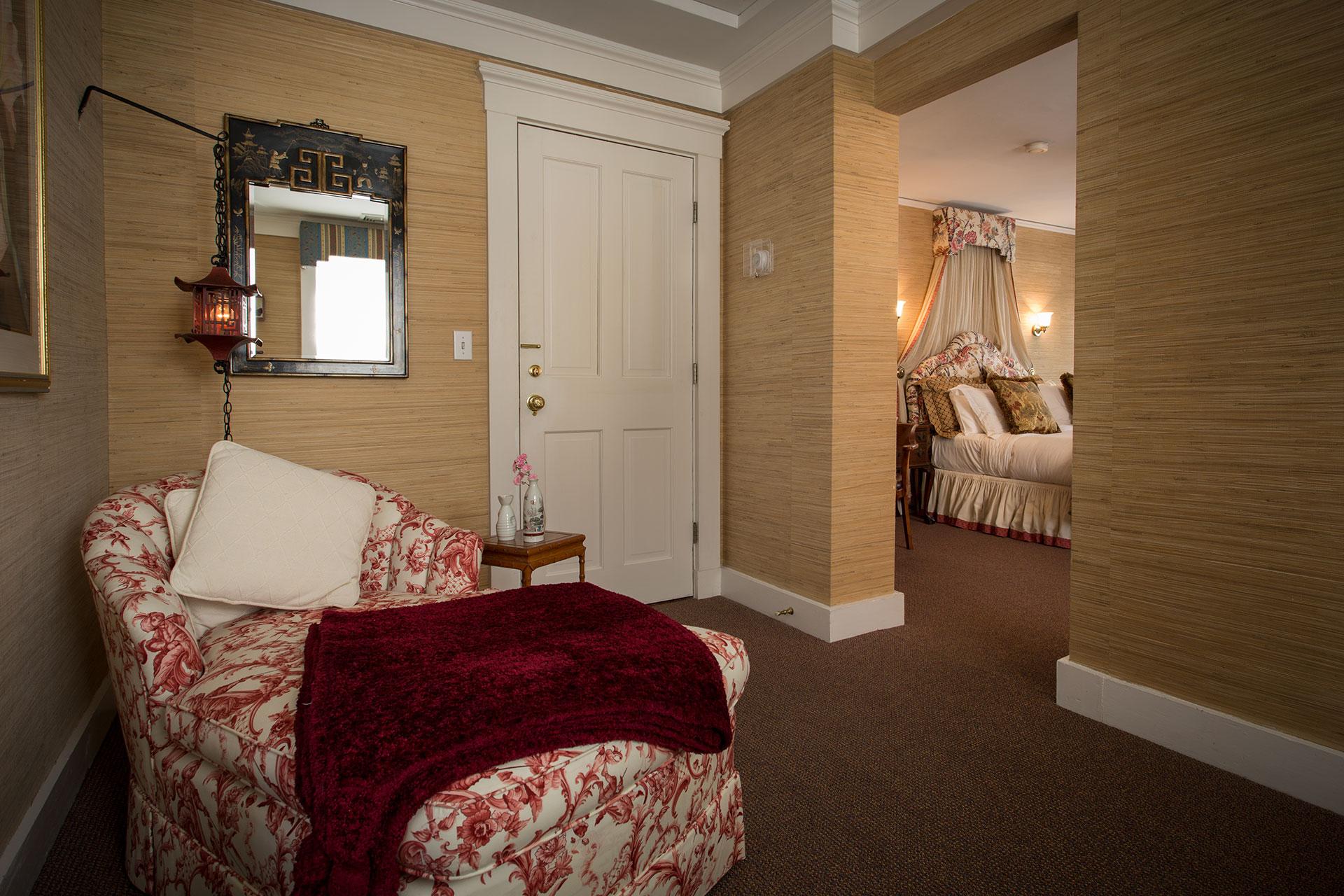The Matthew Sitting Room at La Farge - Newport, RI