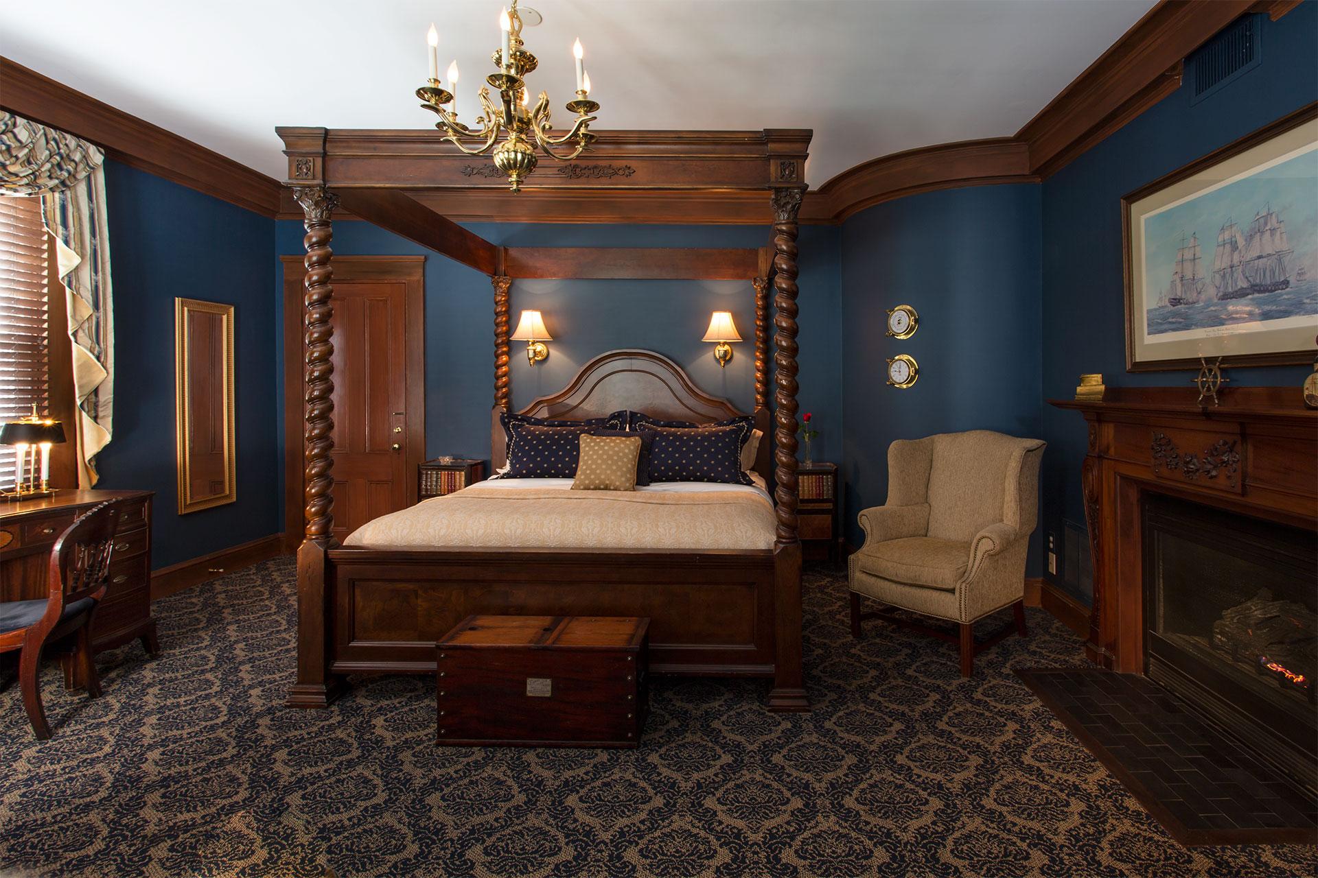 The Oliver Guest Room at La Farge - Newport, RI