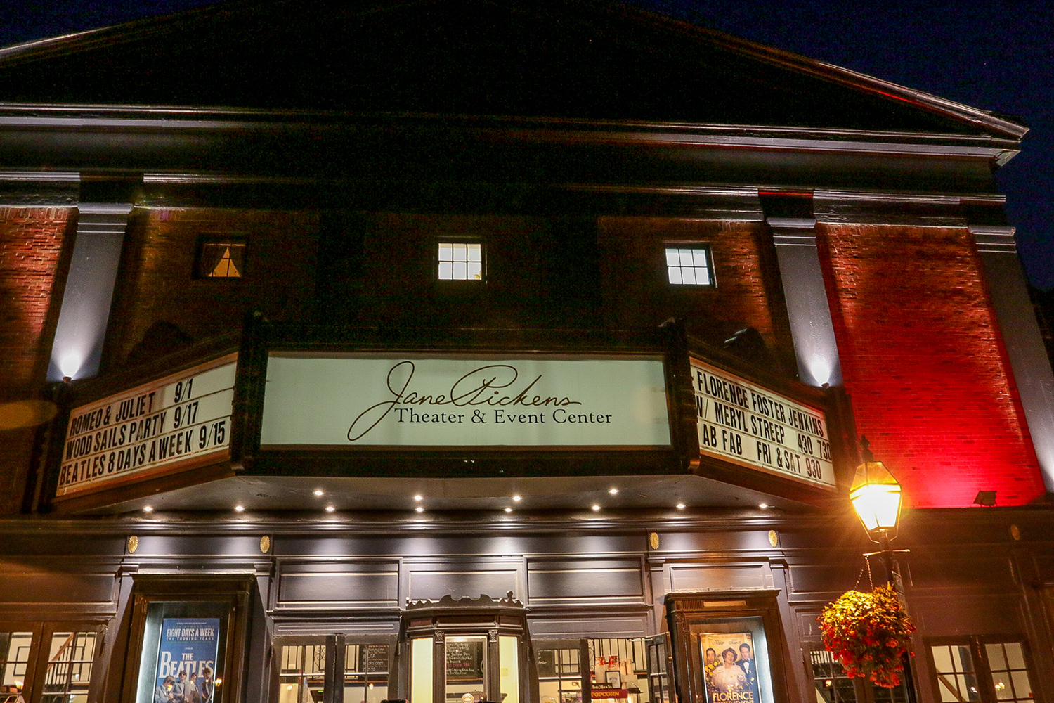 jane pickens theater, photo credit: discover newport