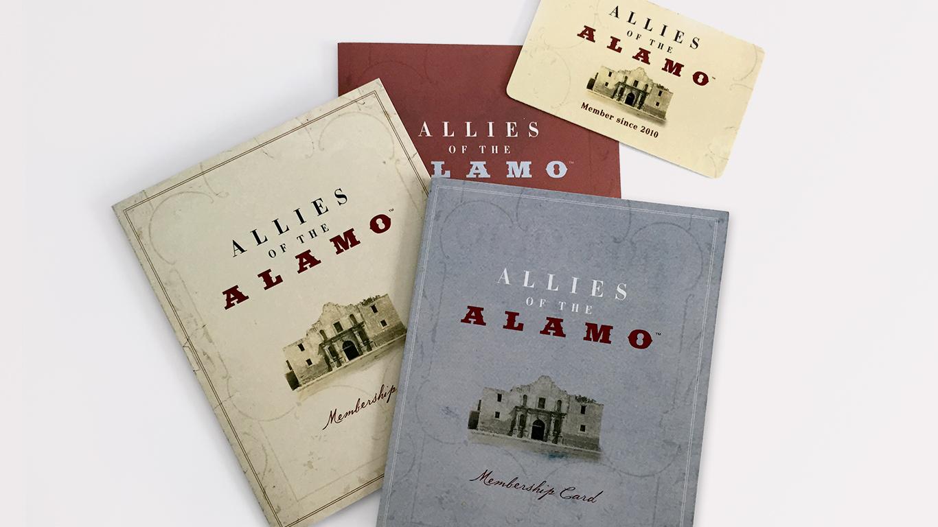 Door Number 3 The Alamo Brochure Advertising