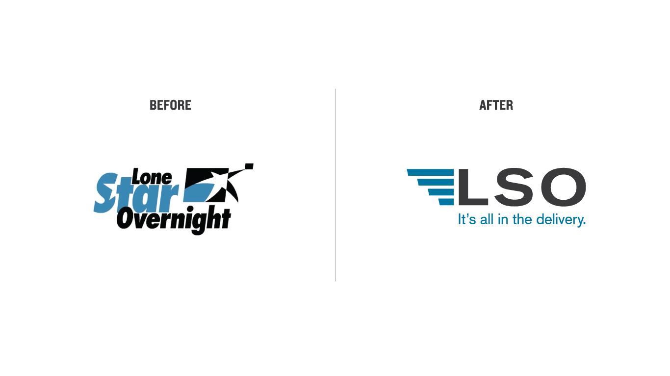 Door Number 3 Lone Star Overnight Logo Rebranding Advertising
