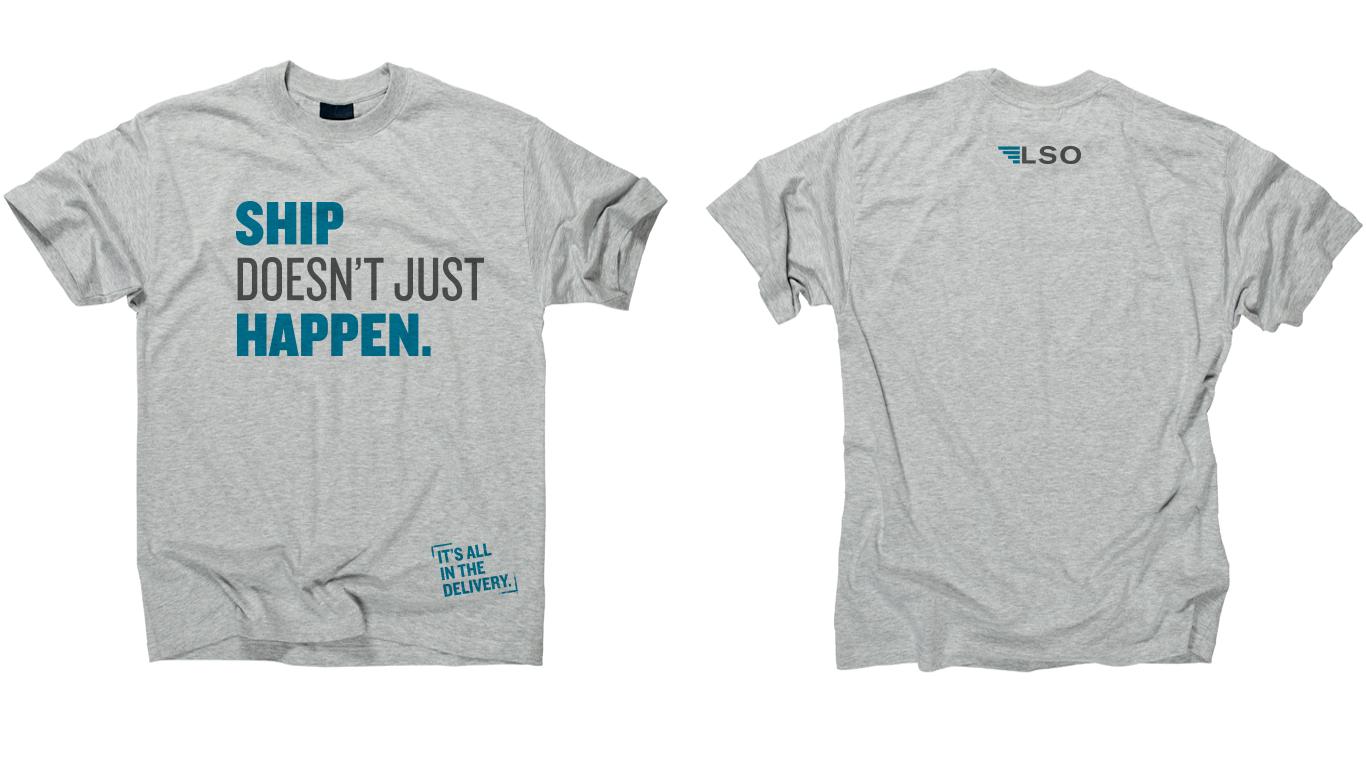 Door Number 3 Lone Star Overnight Design T-shirt Advertising